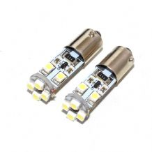 2 x 8 LED 433 434 BA9XS H6W SMD CANBUS Error Free Side Light Bulbs White 6000K